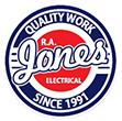 RA Jones Electrical Logo